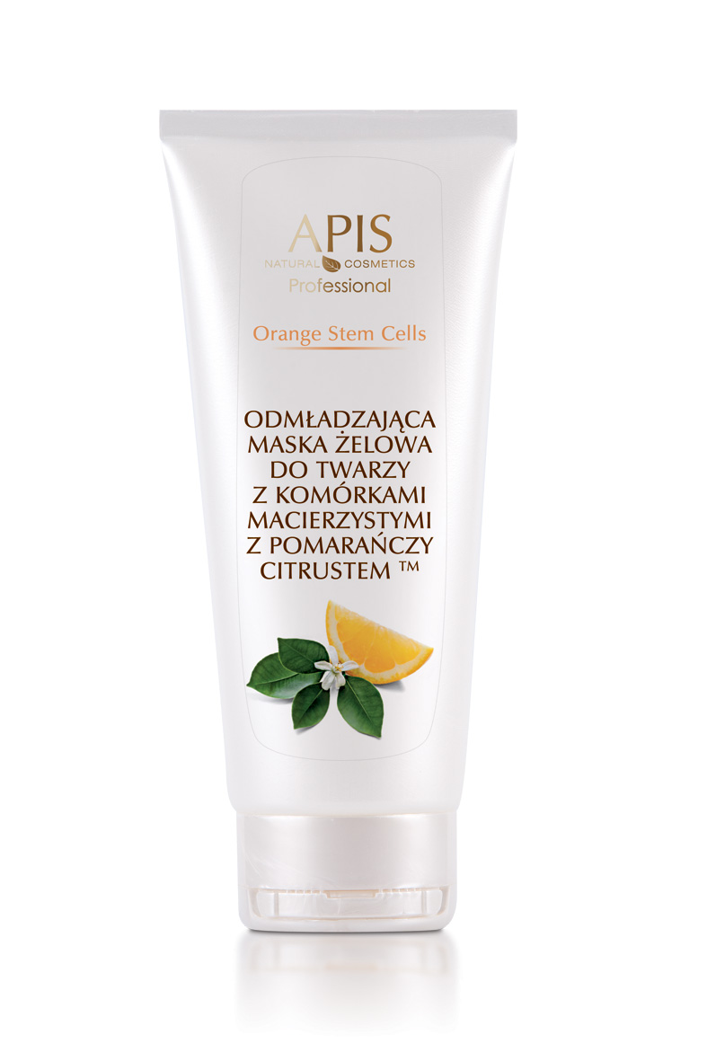 APIS Orange Stem Cells odmładzająca maska żelowa 200ml
