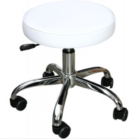 Taboret do pedicure chrome