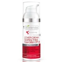 BIELENDA POST TREATMENT CARE - COVER CREAM Tonująco-łagodzący krem do twarzy 50ml
