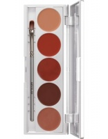 KRYOLAN-LIP ROUGE SET 5 COLORS / SZMINKI DO UST / LRS 111