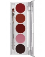 KRYOLAN-LIP ROUGE SET 5 COLORS / SZMINKI DO UST / LRS 121