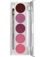 KRYOLAN-LIP ROUGE SET 5 COLORS / SZMINKI DO UST / LRS 141